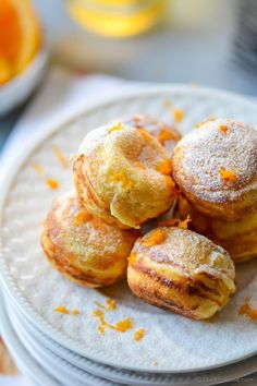 Scrumptious Orange-Cream Filled Ebelskivers. Enjoy for Breakfast or Dessert! Plus enter to win #cookbook  #giveaway