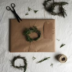 5 Ways to Wrap with Brown Paper