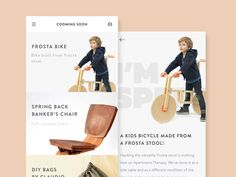 Shop App Interface by Ghani Pradita