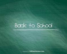 Back to School Chalkboard Chalkboard Vector, School Chalkboard, Chalkboard Background, Cell Phone Covers, Color Street, Free Vector Art, School Design, Cover Photos, Art Images