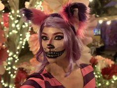 Cheshire Cat makeup Cheshire Cat Halloween Costume, Halloween Cat, Halloween Costumes, Halloween Face Makeup, Cheshire Cat Makeup, Cats, Gatos, Halloween Costumes Uk, Cat