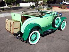 "specialcar: "" doyoulikevintage: ""1930 Ford Model A roadster "" vintage"""