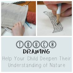 TOUCH DRAWING: Help Your Child Deepen Their Understanding of Nature | Green Acorns