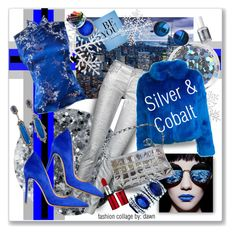 """""""Silver Bells & Blue Suede Shoes"""" by dawn-lindenberg ❤ liked on Polyvore featuring Deborah Lippmann, Topshop, Faith Connexion, n:PHILANTHROPY, Chicnova Fashion, Gianvito Rossi, Essie and Chanel"""