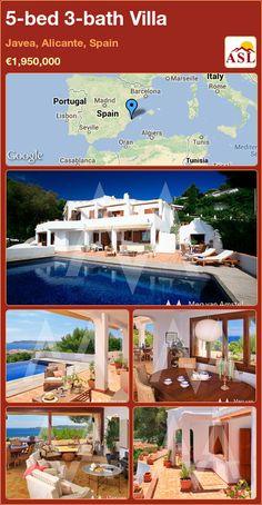 5-bed 3-bath Villa in Javea, Alicante, Spain ►€1,950,000 #PropertyForSaleInSpain