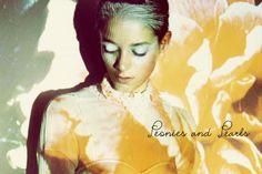 Peonies and Pearls- photographer Sayaka Maruyama