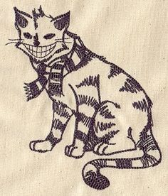 Fancy Cat | Urban Threads: Unique and Awesome Embroidery Designs