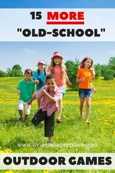 15 outdoor games for kids straight from your own childhood! Bond with your kids … 15 outdoor games for kids. Outdoor Games To Play, Outside Games For Kids, Games To Play With Kids, Group Games For Kids, Free Games For Kids, Outdoor Activities For Kids, Outdoor Toys, Camping Activities, Physical Activities