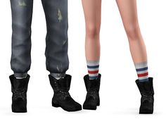 Pickypikachu: Scavenger Boots for T-E M/F
