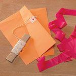 Simple, paper kites.
