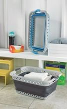 Pop and Load Collapsable Laundry Basket from Tuesday Morning $19.99