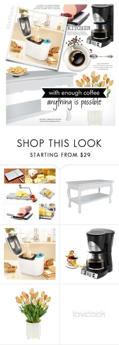 """""""Lovdock"""" by yexyka on Polyvore featuring interior, interiors, interior design, home, home decor, interior decorating, Frontgate, WALL and kitchen"""
