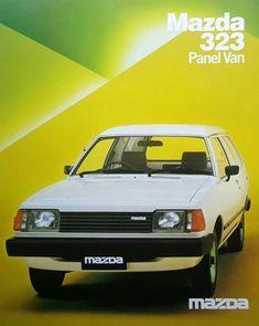 Car Advertising, Car Photos, Mazda, Cool Cars, Classic Cars, Japan, Vehicles, Brochures, Japanese Dishes