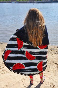 Ręcznik plażowy Arbuzy- zapraszamy na bombom.com.pl