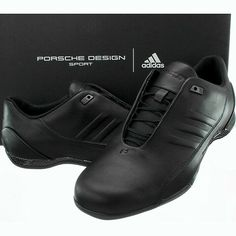 quality design 26ef0 e98c7 Adidas PORSCHE DESIGN Athletic Leather IV men s sneakers black leather NEW   fashion  clothing