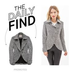 The Daily Find: Forever 21 Tweed Cutaway Jacket