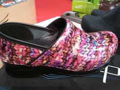 Yarn Danskos, Fall 2012.  What?! :)