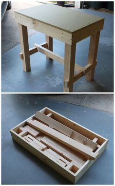 Collapsible Workbench #woodworking #workshop #portable I love Instructibles!