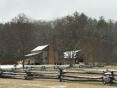 Dan Lawson place in Cades Cove Loop, Smoky Mountain national park.
