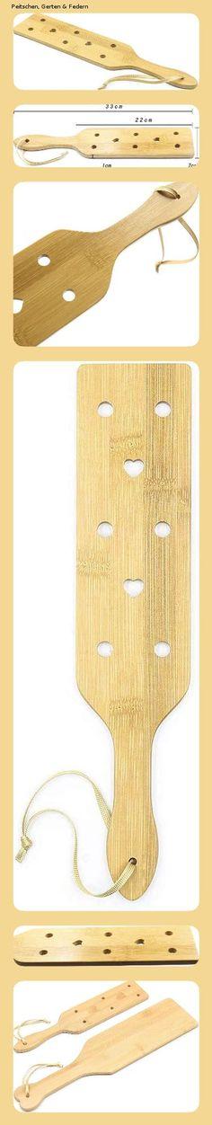 Dulan Sexy Spanking Paddle Bondage Flogger Adult Erotik Fetisch Peitsche Paare Sexspiel Handschuss Holzpaddel mit handgefertigten Luftstromlöchern, glatt poliert Smooth, Erotica, Handmade, Games