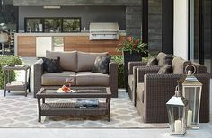 Naples 4-Piece Outdoor Deep Seating Set