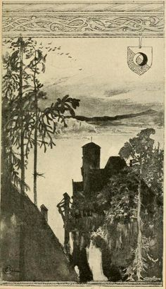 Viktor Rydberg's Singoalla illustrated by Carl Larsson (1853-1919).