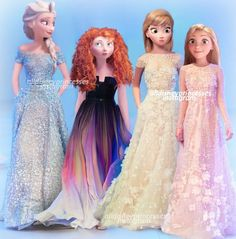 "Lol, Merida's just like ""What en de world am I doing en a dress?!"""