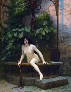 museedart:  Truth Coming Out of Her Well to Shame Mankind, 1896 by Jean-Léon Gérôme