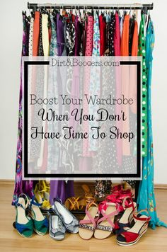 Shopping can be hard, especially if you have kids. Here's some great places to find amazing clothes, shoes, jewelry and other accessories without having to leave the comfort of your home. I love this idea to build a wardrobe.