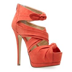 pretty coral shoes