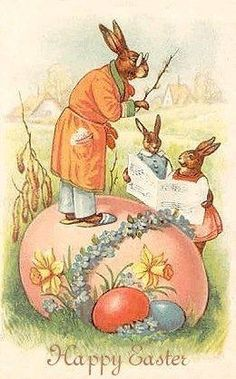 Vintage Easter Greetings