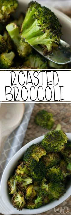 This super easy Roasted Broccoli Recipe is SO good for you! And it's amazing, too. This is perfect for the 21 Day Fix!