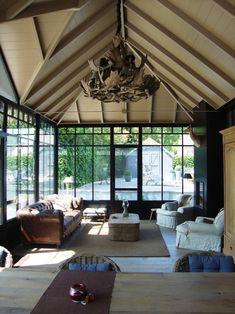 Realisatie veranda's Pergola, Gazebo, Outdoor Seating, Outdoor Decor, Rustic Elegance, Conservatory, Porch, Windows, Architecture