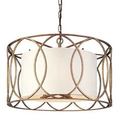 View the Troy Lighting F1285 Sausalito 5 Light Drum Pendant with Fabric Shade at Build.com. IN DEEP BRONZE