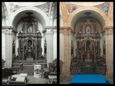 Monasterio de San Miguel de los Reyes. Iglesia, altar mayor (actualmente, la iglesia se encuentra desacralizada)
