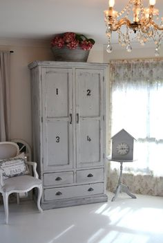 Paint Me White: Numbered Wardrobe