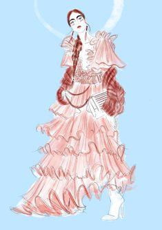 #dress #fashion #fashionillustration #illustration #drawing #sketches