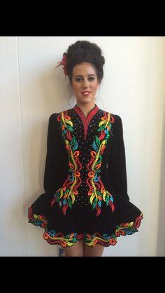 Irish Dance Solo Dress by Elevation design