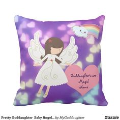 Pretty Goddaughter  Baby Angel Personalized