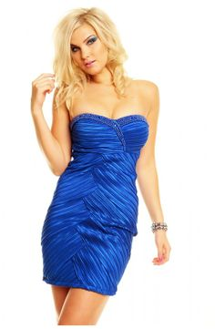 Elsker du blå cocktail kjoler så er denne kjole  100% dig. Har solgt super godt og hvis du er hurtig kan du gøre et kup! Du finder den her: http://youshoe.dk/toj/596-charms-party-dress.html
