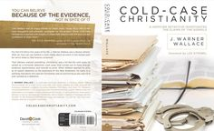 The final artwork for the complete cover of Cold Case Christianity (http://coldcasechristianity.com/where-to-buy-cold-case-christianity/)