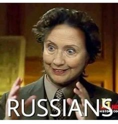 I think I've heard enough about the Russians already.
