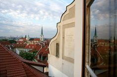 A Room with a view at Golden Well Hotel Prague Prague Hotels, Luxury Accommodation, Best Location, Hotel Offers, A Boutique, Wellness, Mansions, House Styles, Building