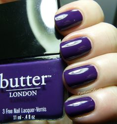 **butterLONDON - Bramble (Illusionists Collection Holiday 2013) / PointlessCafe