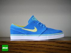 Nike Stefan Janoski- Photo Blue and Sonic Yellow