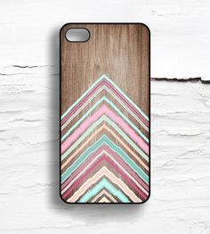 Chevron  Faux Wood iPhone Case | Collections iPhone | Hello Nutcase | Scoutmob Shoppe | Product Detail