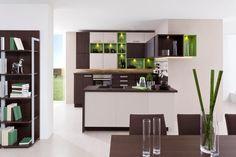 Kuchyňa Decodom: Carmen prevedenie: Schoko - Dub Pílený - Schoko Kubanit - [Kitchen: Carmen colours: Oak - Schoko Kubanit]
