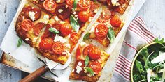 I Quit Sugar: Cauliflower Crust Pizza by Sally Obermeder