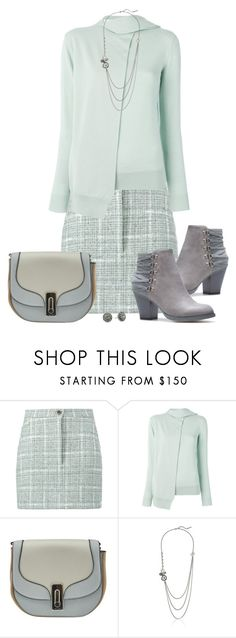 """""""Minty Marc"""" by asigworth ❤ liked on Polyvore featuring Natasha Zinko, Victoria, Victoria Beckham and Marc Jacobs"""