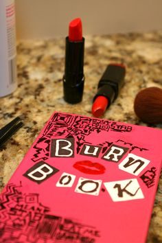 DIY: Mean Girls Burn Book Planner + Free Printable | Dawn Nicole Designs